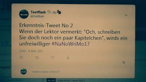 #NiederrheinKrimi Ja, auch ich kriege hin und wieder Post vom Lektorat…